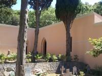 Tinteggiatura esterna svolta presso cimitero comunale di Procchio