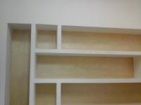 Esempio libreria in cartongesso
