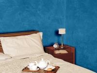 Esempio marmorino blu